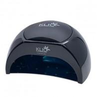 Klio Professional, Лампа UV/LED, 48W, черная с 3 подушками