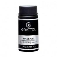 Grattol, База Gel Extra Cremnium, 20 мл