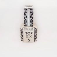 Top Six 6 Nail club матовый, 18мл.