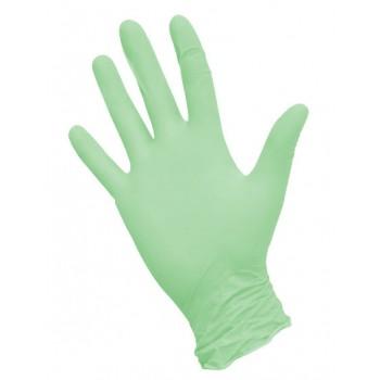 Перчатки зеленые р. S 50 пар NitriMAX