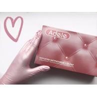 Перчатки розовый перламутр р. M 50 пар Adele
